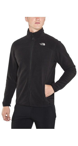 The North Face 100 Glacier Full Zip Men TNF Black